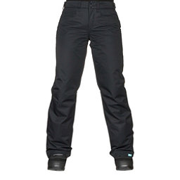 Roxy Backyard Womens Snowboard Pants, True Black, 256