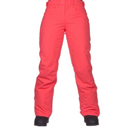 Roxy Backyard Womens Snowboard Pants, Neon Grapefruit, 256