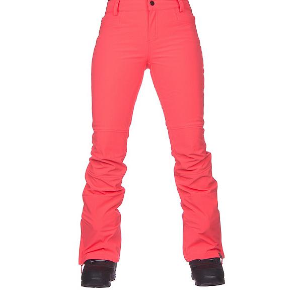 Roxy Creek Womens Snowboard Pants, Neon Grapefruit, 600