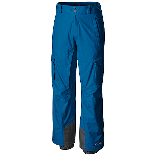 Columbia Ridge 2 Run II Mens Ski Pants, Dark Compass, 600