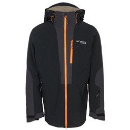 Columbia Powder Keg Down Mens Insulated Ski Jacket, Black, 256