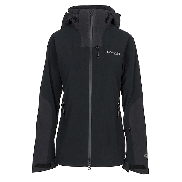 Columbia Powder Keg Womens Insulated Ski Jacket, Black, 600