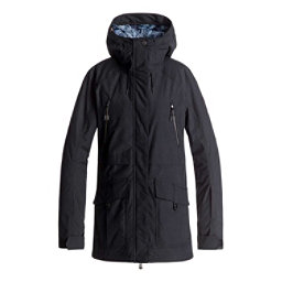 Roxy Tribe Womens Insulated Snowboard Jacket, True Black, 256