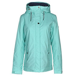 Roxy Billie Womens Insulated Snowboard Jacket, Aruba Blue, 256