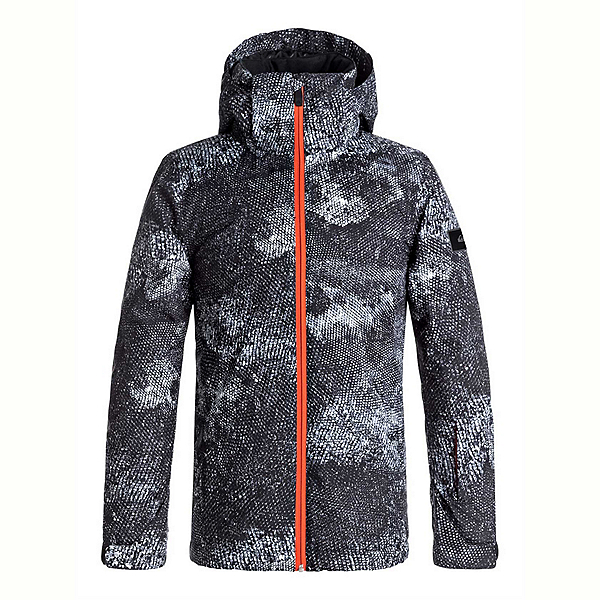 Quiksilver Travis Rice Mission Printed Boys Snowboard Jacket, , 600