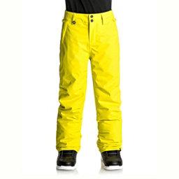 Quiksilver Estate Kids Snowboard Pants, Sulphur Spring, 256