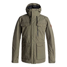 Quiksilver Raft Mens Insulated Snowboard Jacket, Grape Leaf, 256