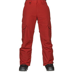 Quiksilver Porter Mens Snowboard Pants, Ketchup Red, 256