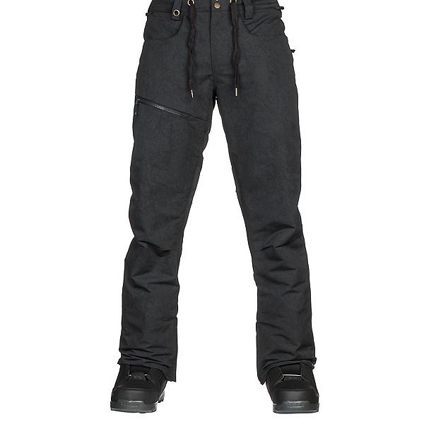 Quiksilver Forest Oak Mens Snowboard Pants, Black, 600
