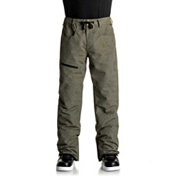 Quiksilver Forest Oak Mens Snowboard Pants, Grape Leaf, 256