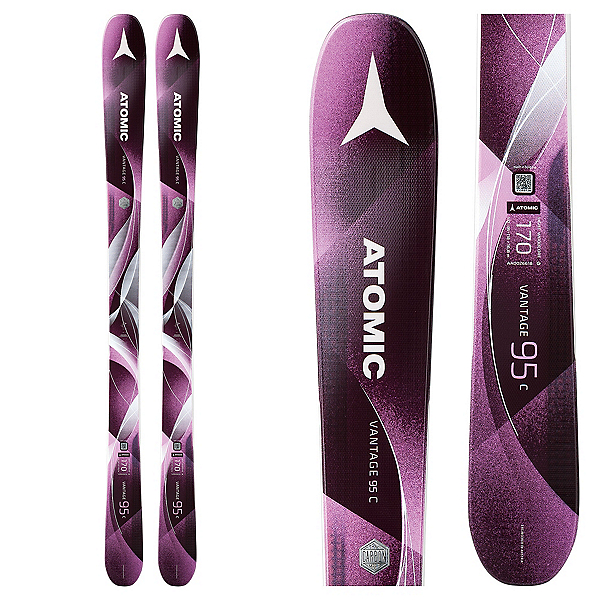 Atomic Vantage 95 C Womens Skis 2018, , 600