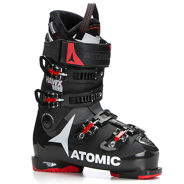 Atomic Hawx Magna 110 Ski Boots, Black-Red-Anthracite, 600