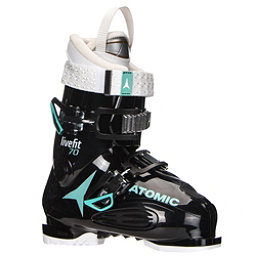 Atomic Live Fit 70 W Womens Ski Boots 2018, Black-Mint-White, 256