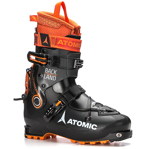 Atomic Backland Carbon Alpine Touring Boots, Black-Anthracite-Orange, 600