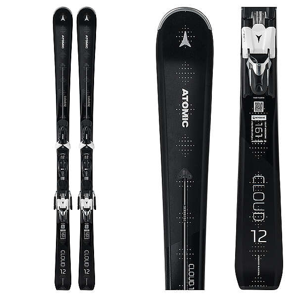 Atomic Cloud 12 Womens Skis with X 12 TL Bindings, , 600