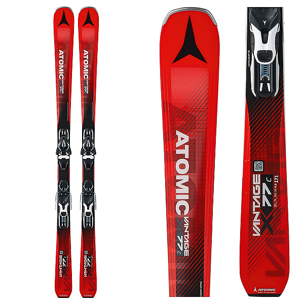 Atomic Vantage X 77 C Skis with Mercury 11 Bindings 2018, , 600