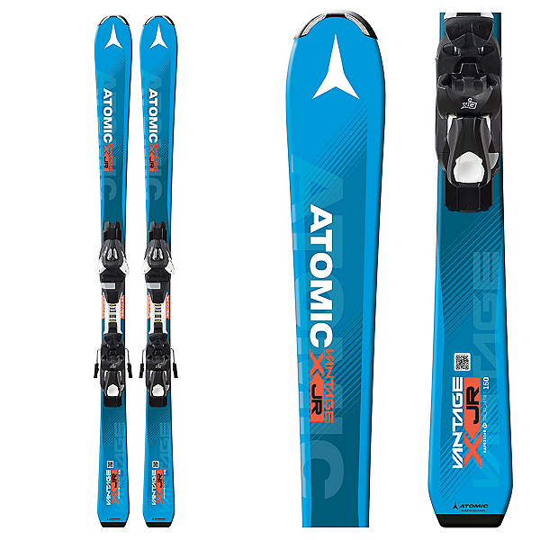 Atomic Vantage Jr. III Kids Skis with L7 Bindings 2018, , 600