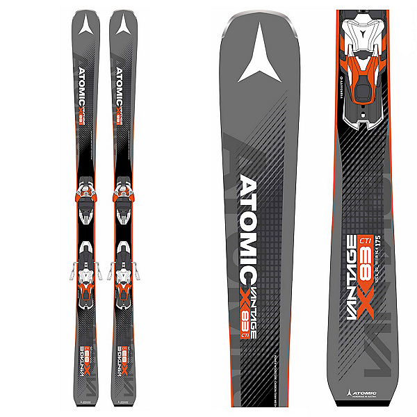 Atomic Vantage X 83 CTI Skis with Warden MNC 13 Bindings 2018, , 600