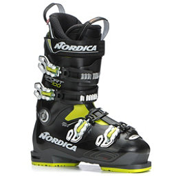 Nordica Sportmachine 100 Ski Boots 2019, Anthracite-Black-Lime, 256