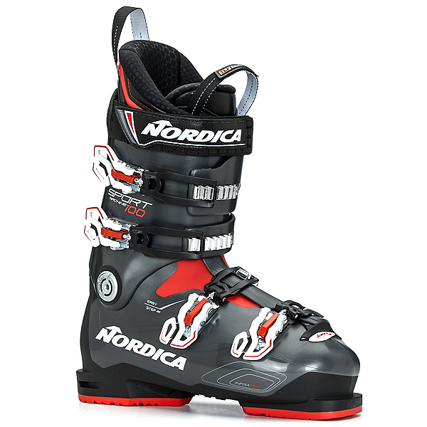 Nordica Sportmachine 100 Ski Boots 2018, Anthracite-Red, 600
