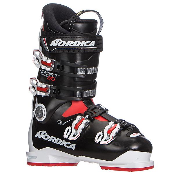 Nordica Sportmachine 90 Ski Boots 2019, White-Black-Red, 600