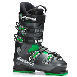 Nordica Sportmachine 80 Ski Boots, Black-Anthracite-Green, 256
