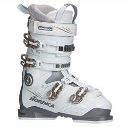 Nordica Sportmachine 85 W Womens Ski Boots 2018, Anthracite-White-Bronze, 256