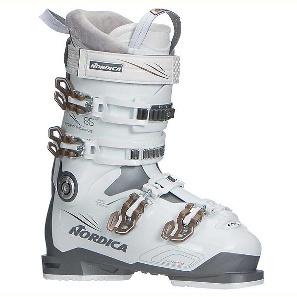 Nordica Sportmachine 85 W Womens Ski Boots 2018, Anthracite-White-Bronze, 600