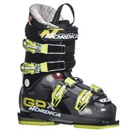 Nordica GPX 70 Kids Ski Boots 2018, Black-Lime, 256