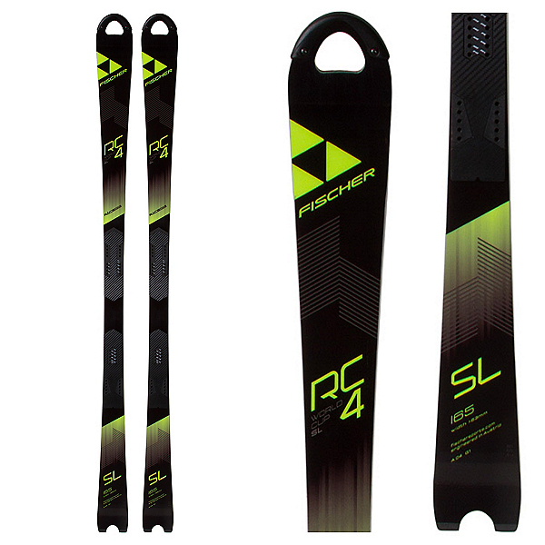 Fischer RC4 Worldcup SL Curv Race Skis 2018, , 600
