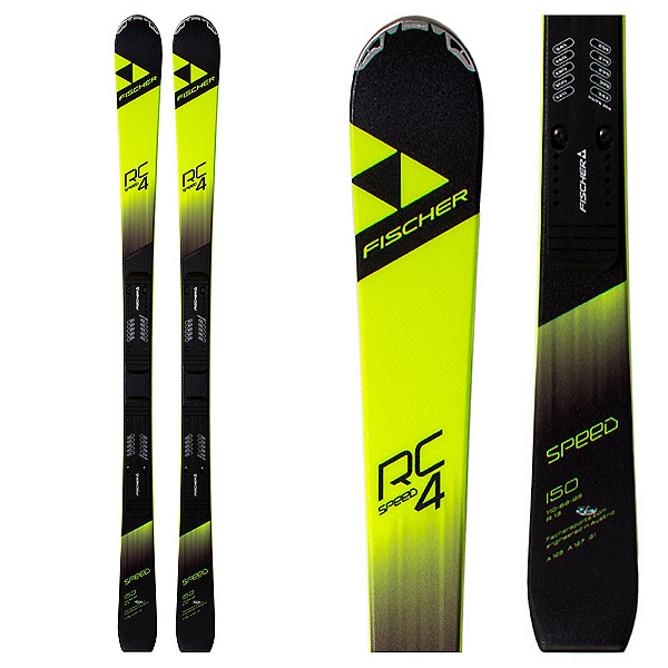 Fischer RC4 Speed Jr. RP Junior Race Skis, , 600