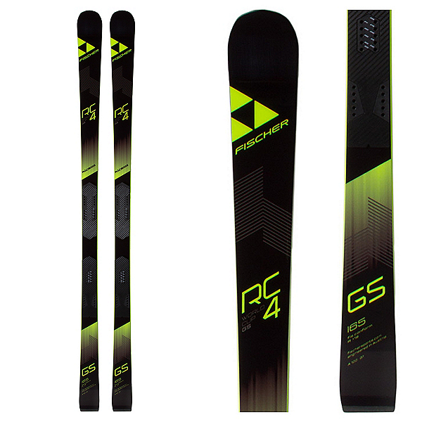 Fischer RC4 Worldcup GS Jr. Curv Junior Race Skis, , 600