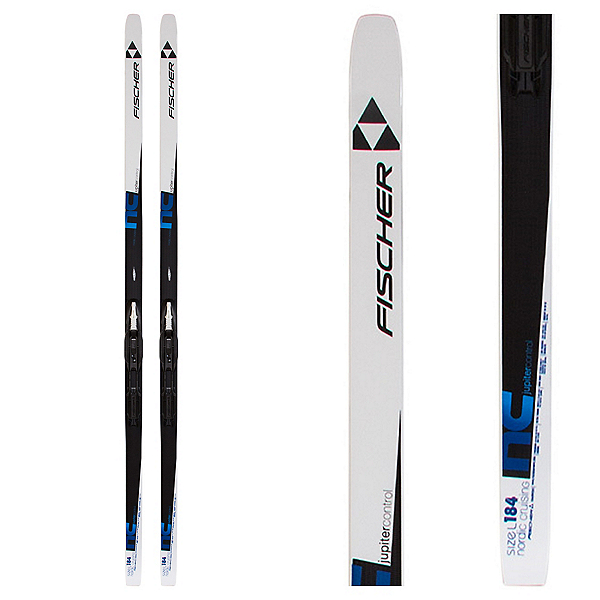 Fischer Jupiter Control Cross Country Skis with Bindings, , 600