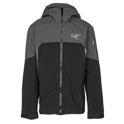 Arc'teryx Rush Mens Shell Ski Jacket, Black Pilot, 256