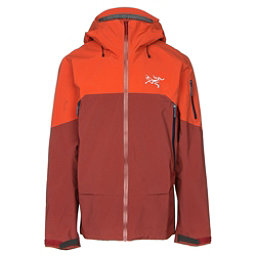 Arc'teryx Rush Mens Shell Ski Jacket, Vesuvius, 256