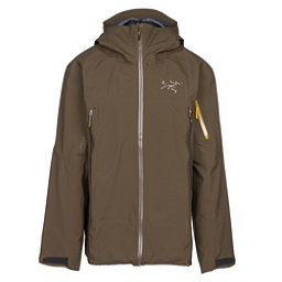 Arc'teryx Sabre Mens Shell Ski Jacket, Dark Moss, 256