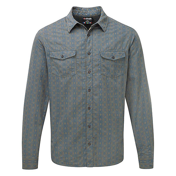 Sherpa Surya Long Sleeve Mens Shirt, , 600
