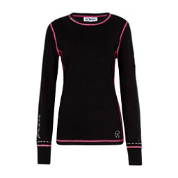 Meister Peace Womens Sweater, Black-Linen, 256