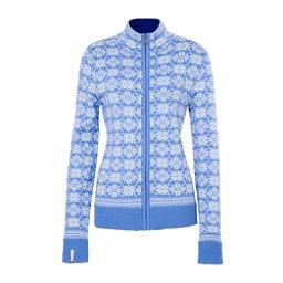 Meister Rose Womens Sweater, Cornflower-Winter White, 256
