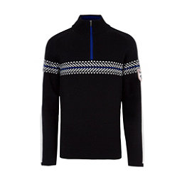 Meister Alex Mens Sweater, Black-Winter White, 256