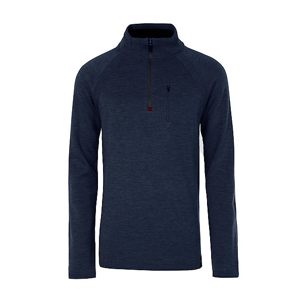 Meister Theo Mens Sweater, Denim-Cobalt, 600