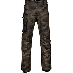686 Rover Mens Snowboard Pants, Fatigue Camo Print, 256