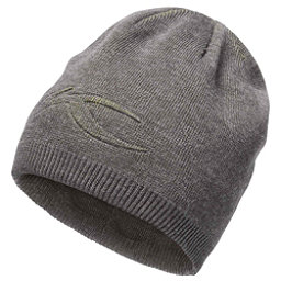 KJUS Turn Hat, Dark Grey Melange-Lime Green, 256