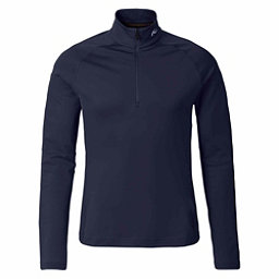 KJUS Second Skin Half Zip Mens Mid Layer, Atlanta Blue, 256