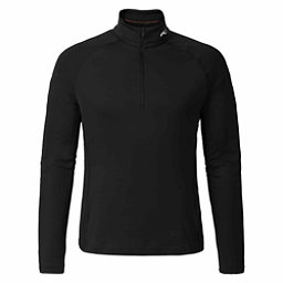 KJUS Second Skin Half Zip Mens Mid Layer, Black, 256