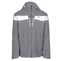 KJUS Speed Reader Mens Insulated Ski Jacket, Steel Grey, 256