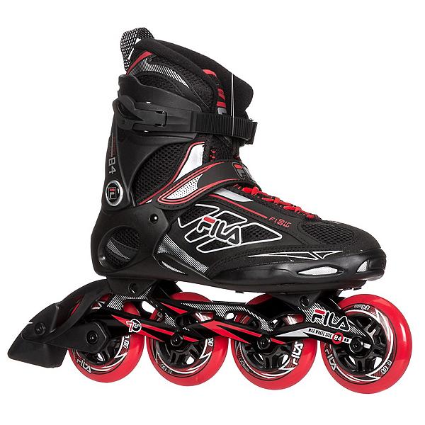Fila Skates Primo ALU 84 Inline Skates 2017, Black-Red, 600