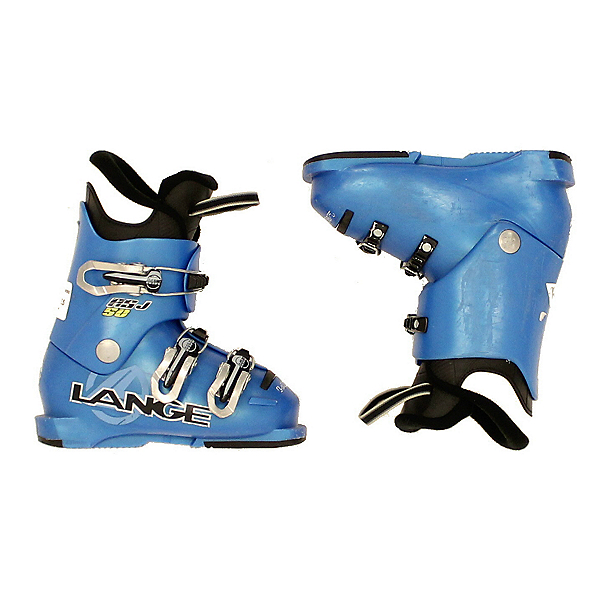 Used 2013 Lange RS J 50 Ski Boots Youth & Toddler Sizes, , 600