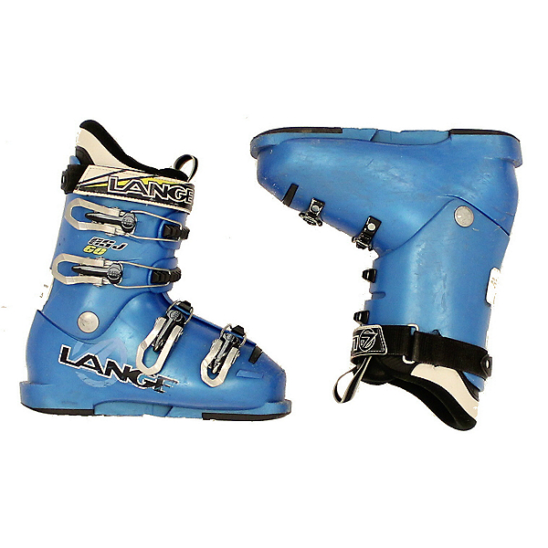 Used 2013 Lange RS J 60 Ski Boots Youth Size Power Strap, , 600