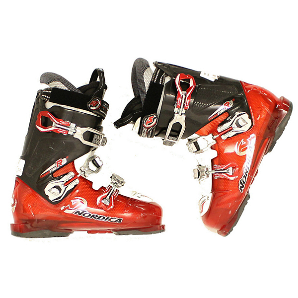 Used Mens 2014 Nordica Transfire R3 Red Black Ski Boots, , 600